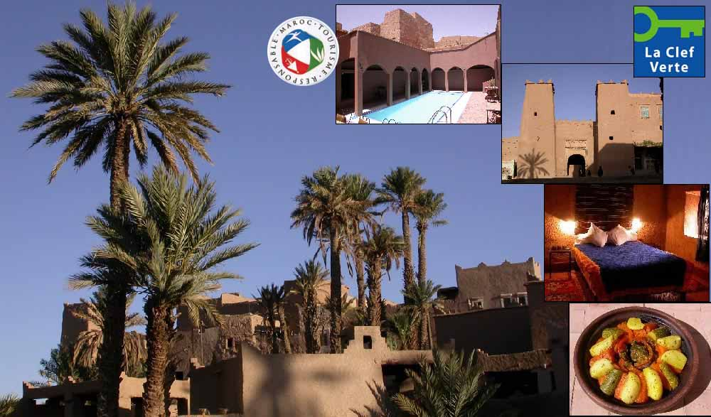 Ecotourism and cultural tourism in Todra Valley, Morocco.
