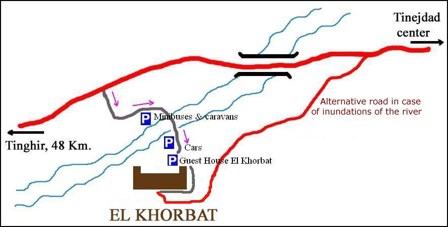 Map of El Khorbat.