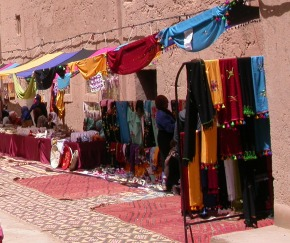 Fair market in Ksar El Khorbat