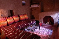 Hotel room at El Khorbat