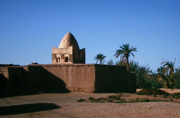 Sidi Abdellah shrine in Tinejdad, South Morocco.