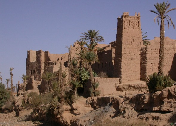Ksar El Khorbat Akedim near Tinghir in south Morocco.