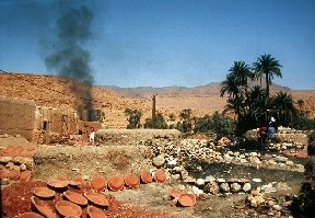 Pottery of Mo, near Goulmima, in South Morocco.