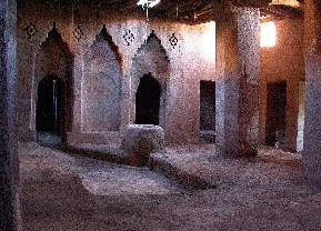 The Ikelane mosque in Afanour, near Tinghir, Todra oasis.