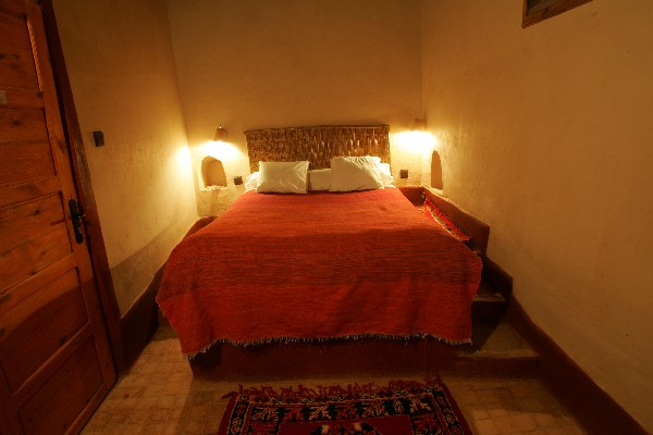 Ait Maamer room in guest house El Khorbat, near Tineghir.