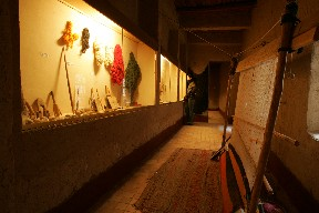 Oasis Museum: women handicraft in south Morocco.