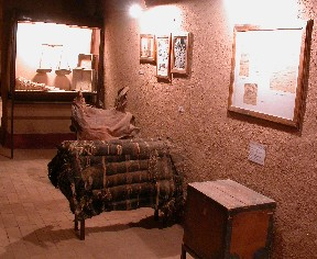 Oasis Museum in El Khorbat: trade in Sahara.