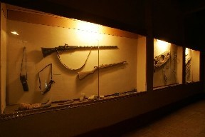 Oasis Museum of El Khorbat: fire weapons in south Morocco.