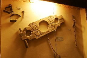 Oasis Museum of El Khorbat: torture systems in south Morocco.
