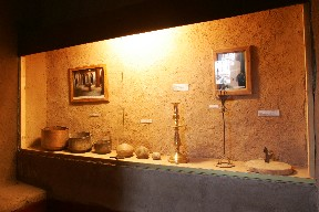 Oasis Museum of El Khorbat: islamic cult in south Morocco.