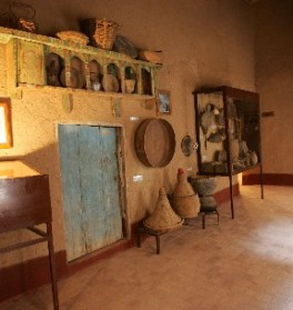 Oasis Museum of El Khorbat: food in south Morocco.