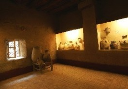 Oasis Museum of El Khorbat: pottery in south Morocco.