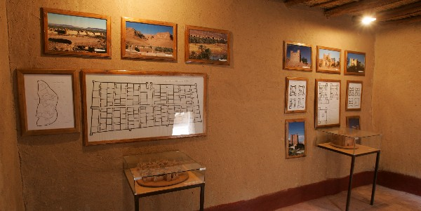 Oasis Museum in Ksar El Khorbat, near Tinghir, south Morocco.